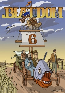 Beatdom Issue Six Cover